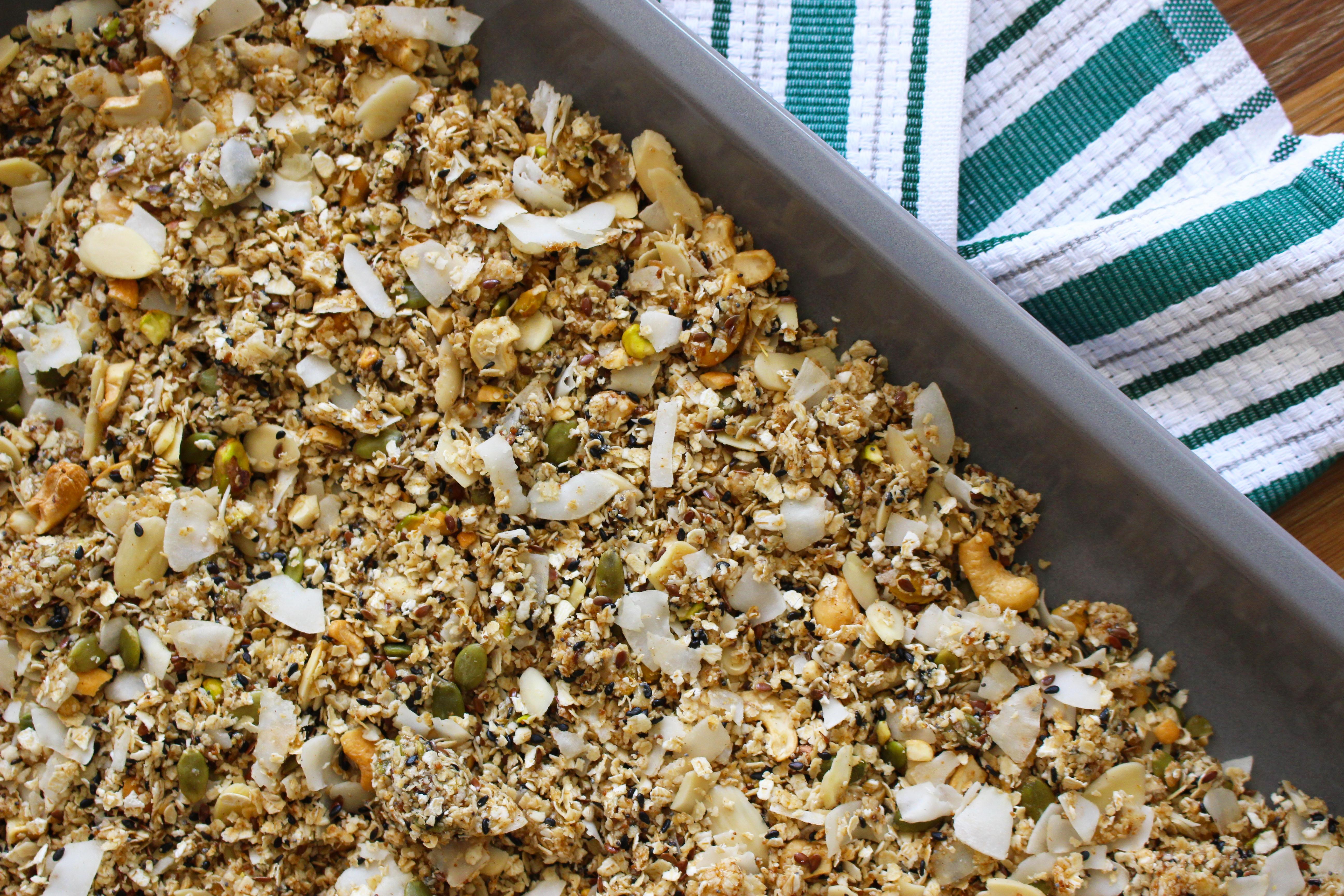 granola - forno