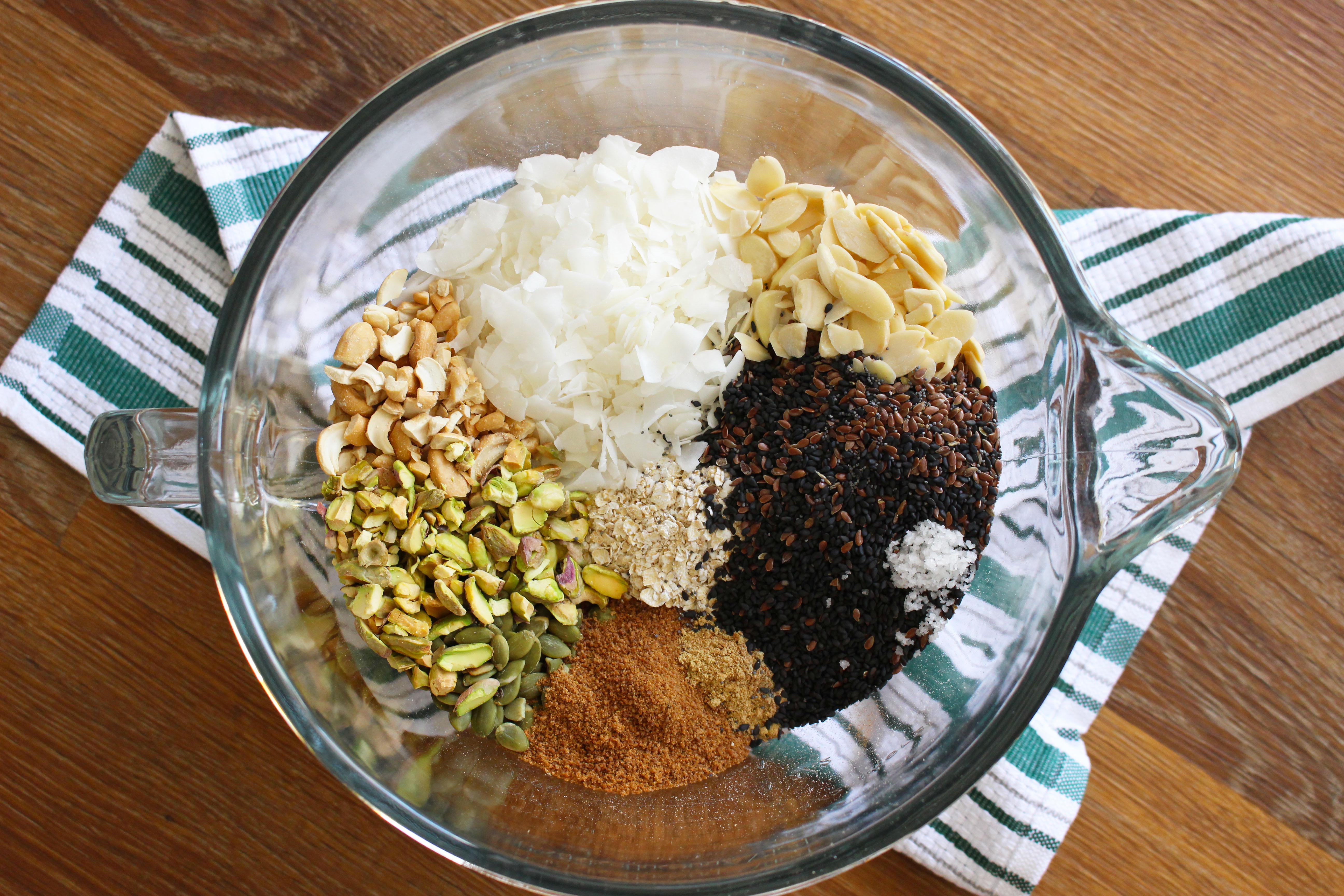 granola - passo 1