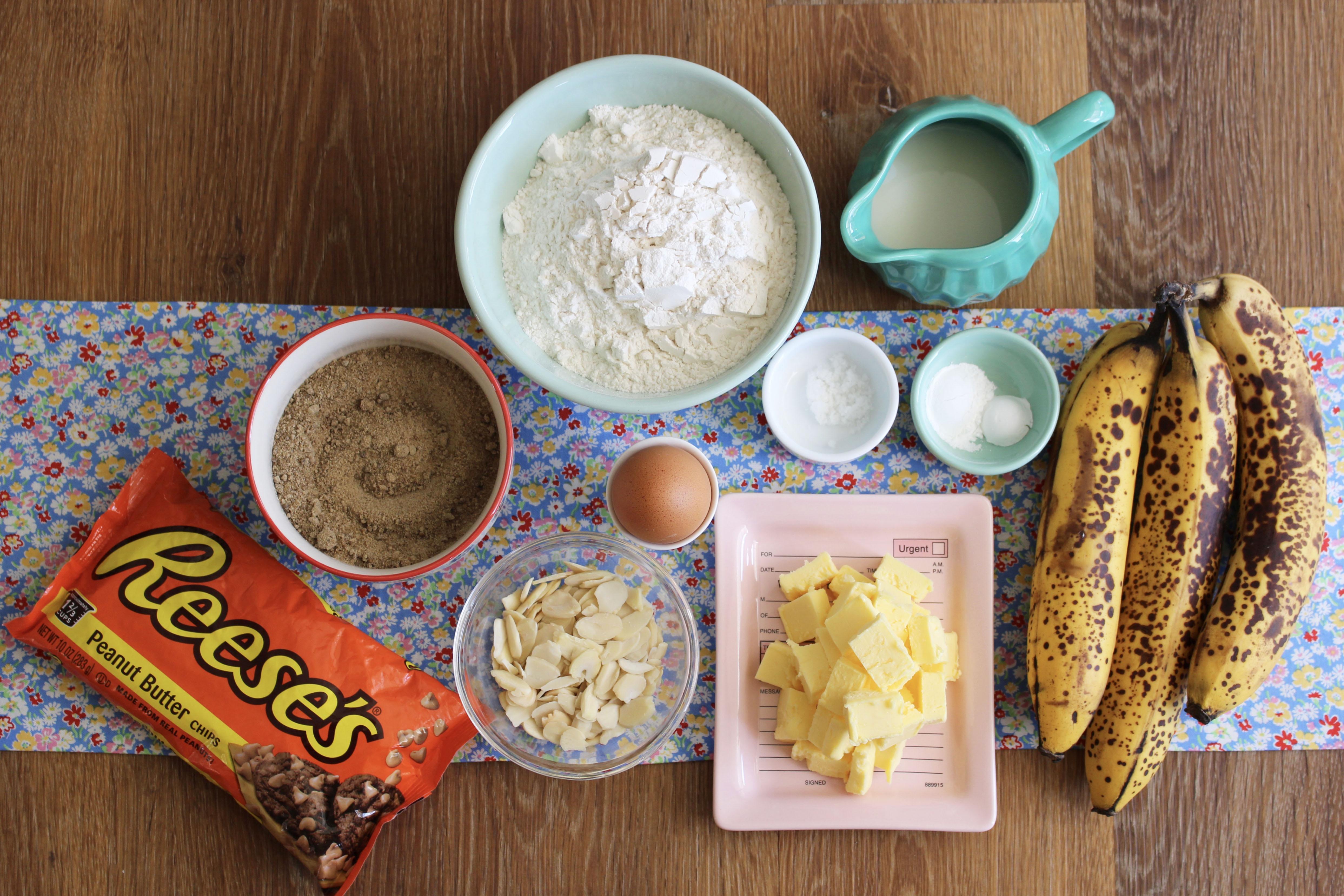 mise en place - banana bread